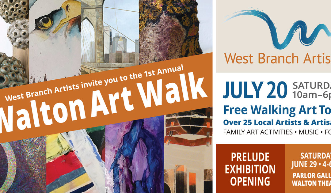 First Annual Walton Art Walk!